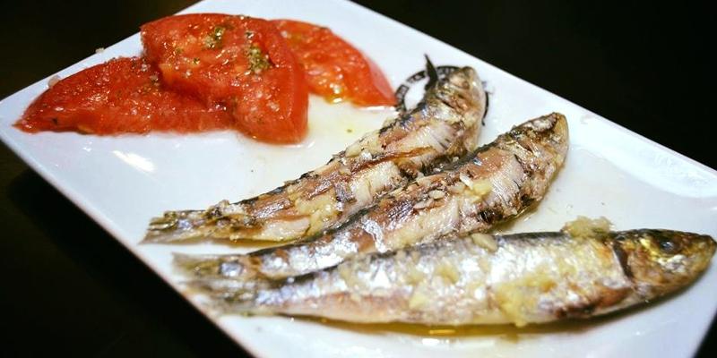 sardinas menu